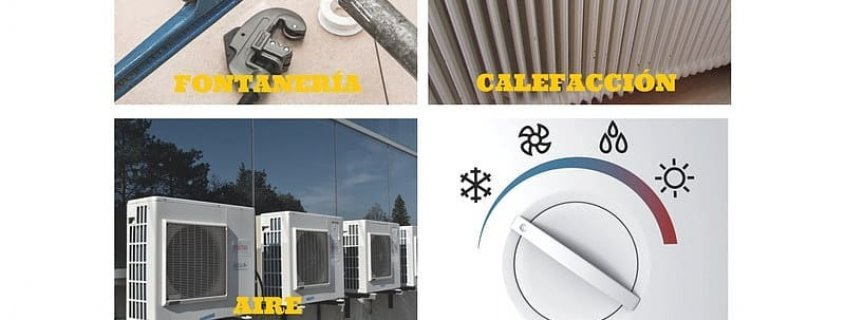 Especialistas en Fontanería, Calefacción, Aire Acondicionado y Gas